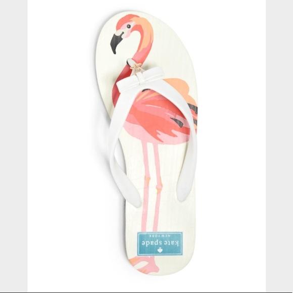 0fb7acbd955f Kate spade Flamingo flip flop
