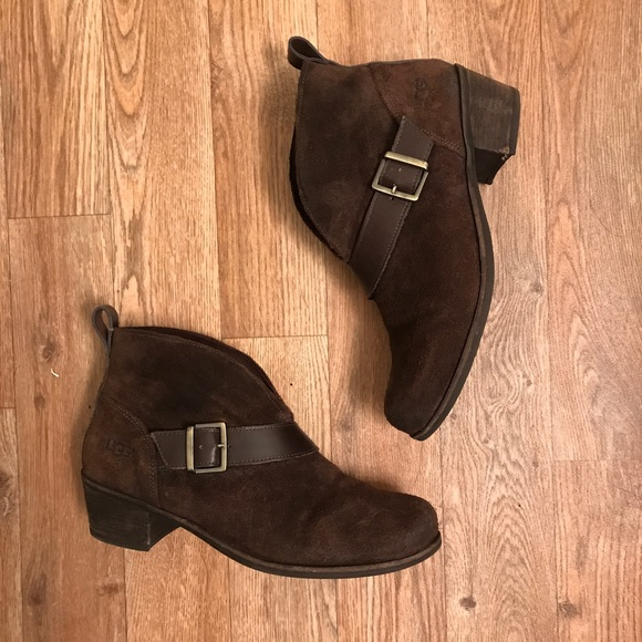 dad0cba0203 UGG Wright Belted Booties