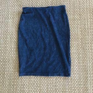Dresses & Skirts - Bodycon pencil skirt denim skirt