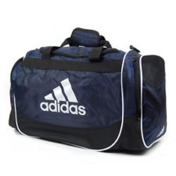 480762bc00b1 adidas Handbags - Adidas large Duffle bag navy white