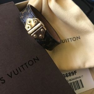 Louis Vuitton Spirit Nano Monogram bracelet