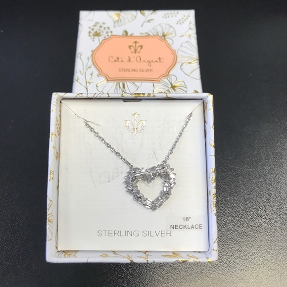 Argent Sterling 925 Peach Charm Made in USA