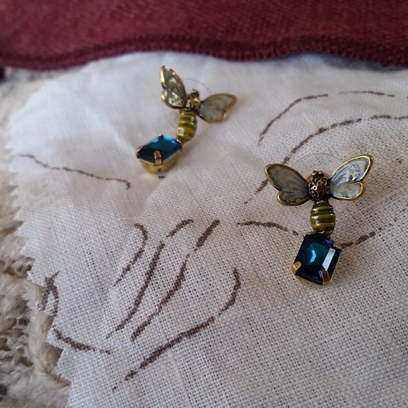 Insect Dangle Earrings