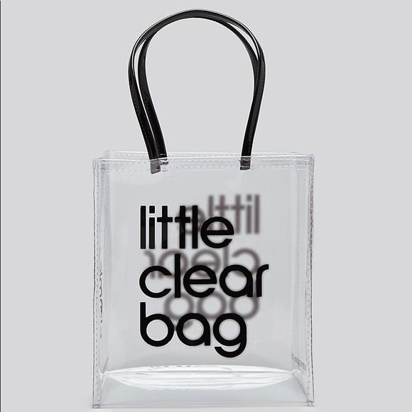 4a2bebb38 Bloomingdale's Bags | Nwt Bloomingdales Little Clear Bag | Poshmark