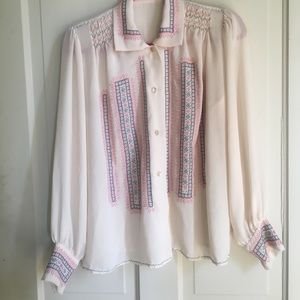 Handmade stitched Blouse A