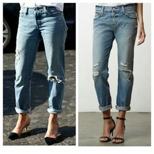 New Free People Levi's 501 CT jeans