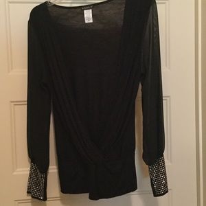 VENUS Tops - Like New Never Been Worn Black Top from Venus.Sz M