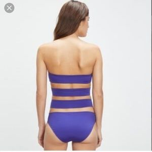New Onia Allie one piece swimsuit in deep Royal