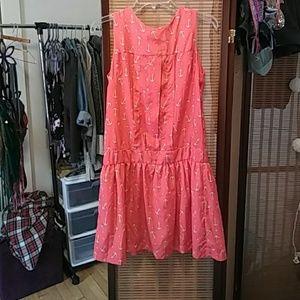 Pepalpves Coral Dress