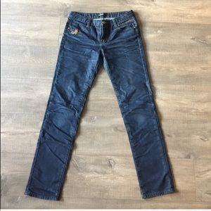 Denim - Blue denim charm detail jeans size 29