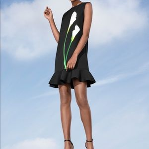 Victoria Beckham for Target Black Calla Lily Dress