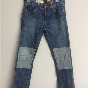 Pilcro & the Letterpress Jeans with Railroad Patch