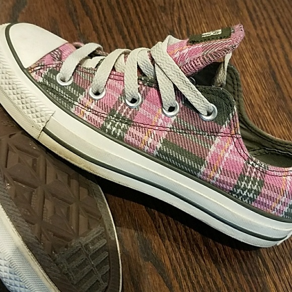 Converse Shoes | Navy Green Pink