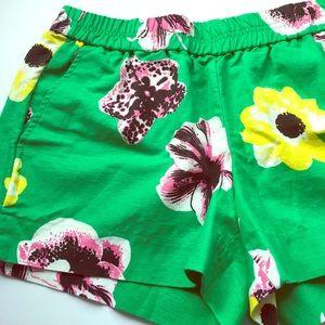 J. Crew punk floral Boardwalk shorts