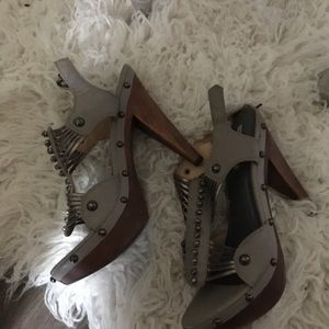 Lovely people studded heels gorgeous buy