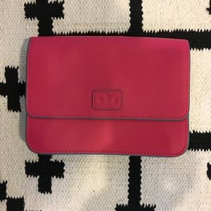 Elaine Turner hot pink mini clutch