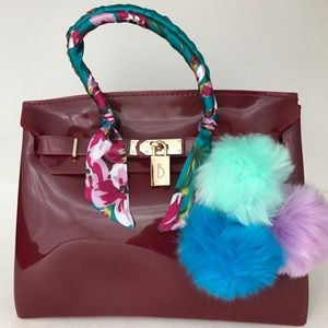 Handbags - Jelly Bean Beachkins Handbag Birkins style bag