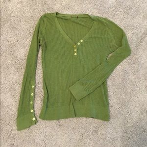 Sweaters - Lightweight green sweater