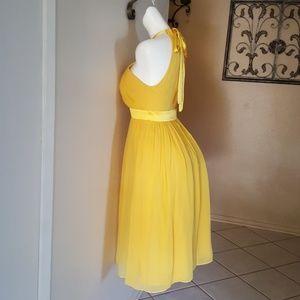 Boston Proper YELLOW Dress