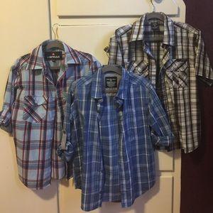 Other - Boys button down shirt lot X3
