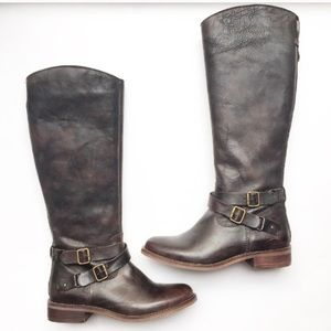 NWOT Hinge Leather Riding Boots