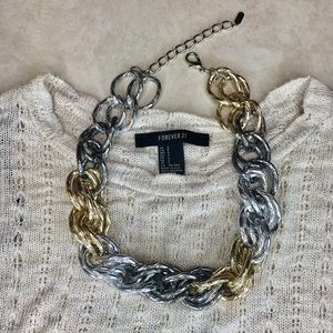 Francesca's Collections Accessories - Chunky Chain Necklace