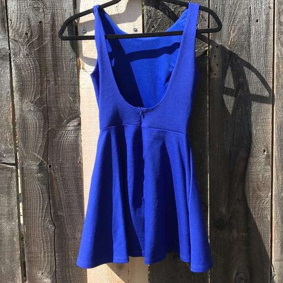 d4360c76e4 Lulu s Dresses   Skirts - Wanderlust Royal Blue Skater Dress