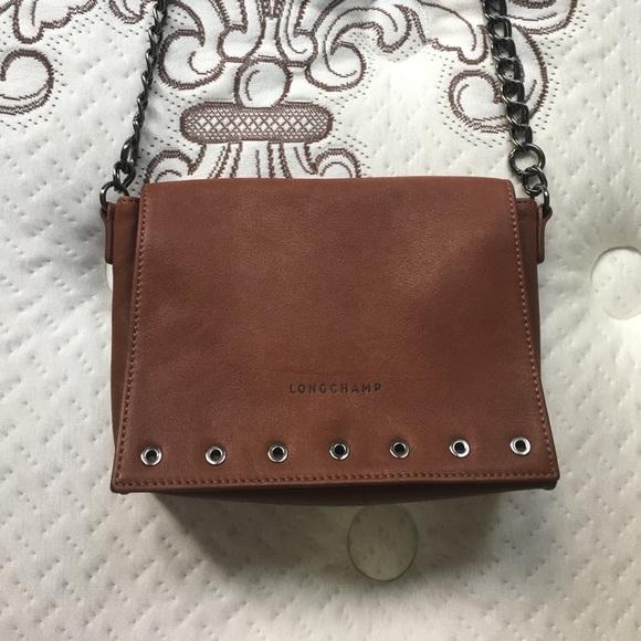 Longchamp Handbags - SALE Longchamp Paris Rocks Small Leather Crossbody 3df227971e2d2