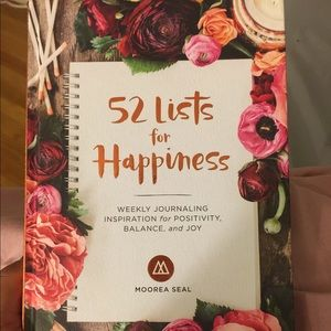 Other - 52 lists for happiness Journal