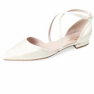 New Kate Spade New York Britta Satin Flats size 7