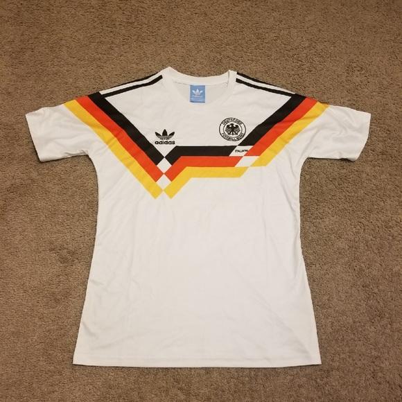 best sneakers 299f2 49daa Germany 1990 World Cup Soccer Jersey