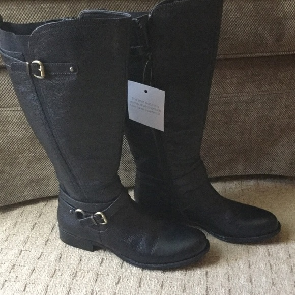 50a3ae51366 Naturalizer Shoes | Wide Calf Boot N5 Comfort | Poshmark