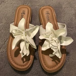 White girls flip flops