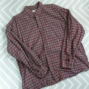 💥 Old Navy Men's plaid flannel shirt