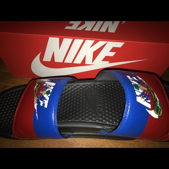 0d4f445d0 Custom Hati   Jamaican Slides 🇯🇲🇭🇹