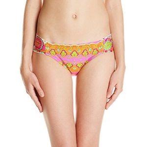 NWT Trina Turk Woodblock Floral Bikini Bottom