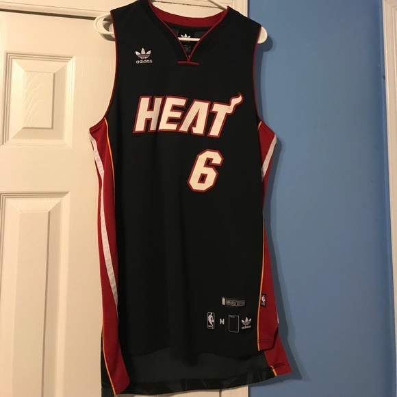 0141792cb adidas Other - Limited Edition Lebron James Miami Heat Jersey