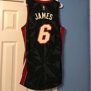 adidas Shirts - Limited Edition Lebron James Miami Heat Jersey 5d7264acd