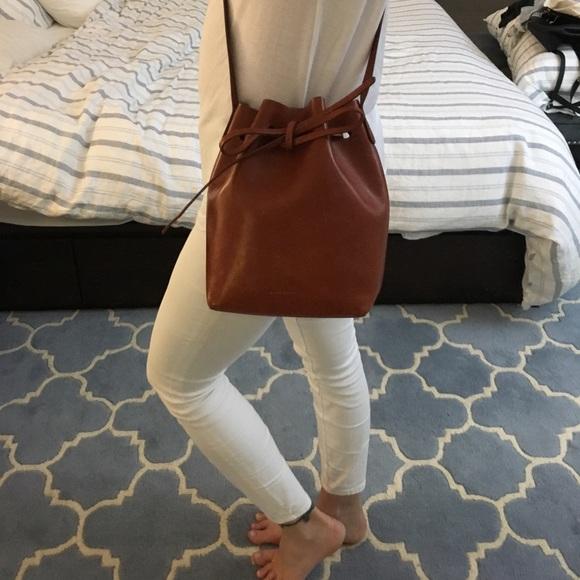 Mini Bucket Bag Brandy (raw interior). M 59a0d62ebcd4a769110169a2