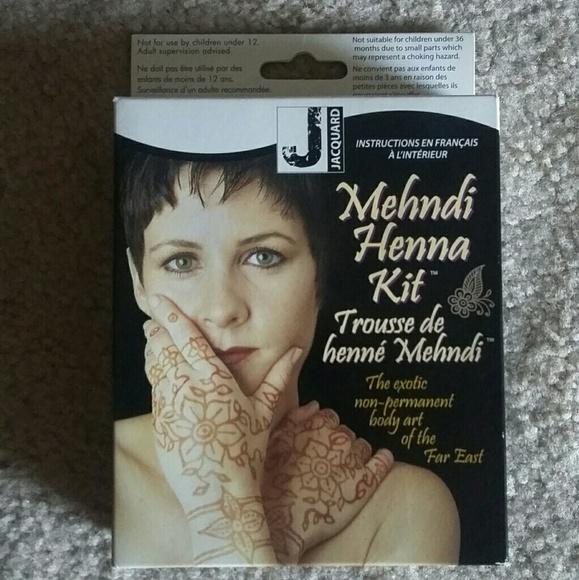 Jacquard Other Mehndi Henna Kit Poshmark
