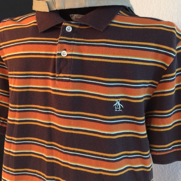 09bcc31e Original Penguin Shirts | Mens Vintage Penguin Polo Mall Fall Color ...