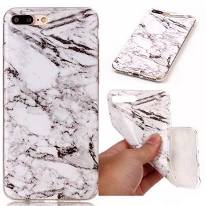 Accessories - ✨Host pick✨Luxuries iPhone 7 slim soft case marble