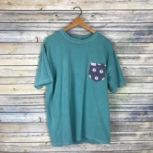 Fraternity Collection Green Kentucky Pocket Tee