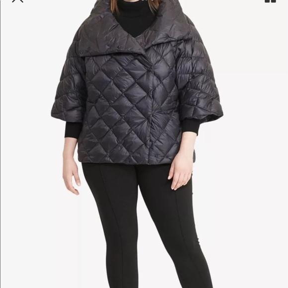 Lauren Ralph Lauren Jackets Coats Quilted Mock Neck Down Jacket