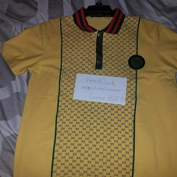 c8a448cc7 Gucci Shirts | Custom Polo | Poshmark