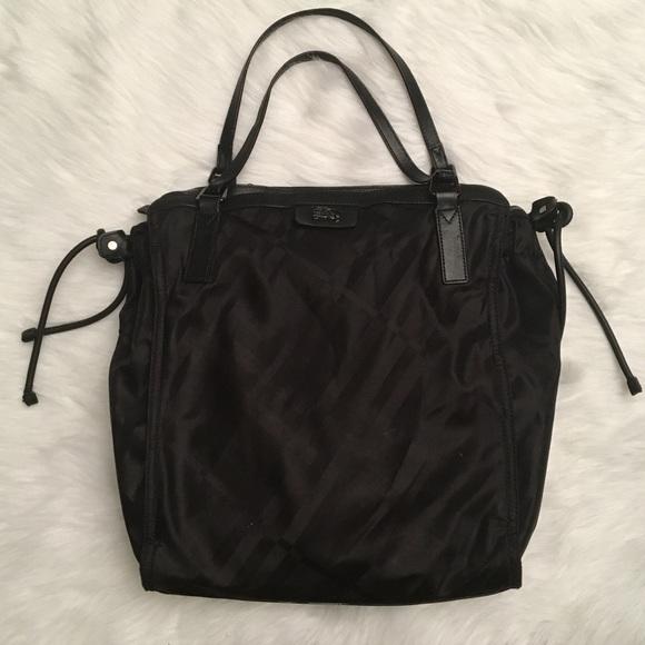 Burberry Handbags - Burberry Buckleigh Packable Nylon Tonal Check Tote ba9d15dec45fb