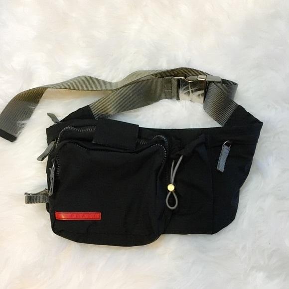 6386b66a47a2 Prada Bags | Sportnero Black Nylon Waist Bag | Poshmark
