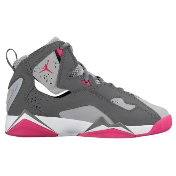 Girls' Jordan True Flight Shoes