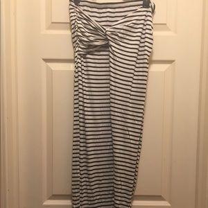 Dresses & Skirts - 🆕 Striped  Wrap Skirt