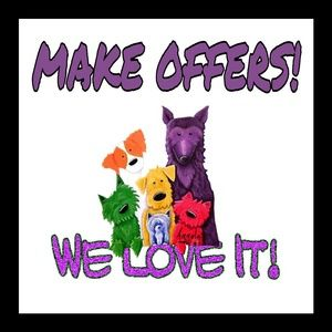 Reasonable offer! We love 'em!